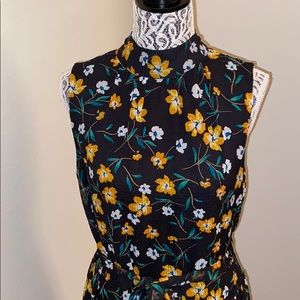 Who what wear midi floral peasant dress